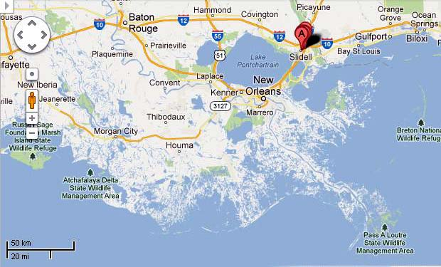 Google Maps New Orleans Maps Map Usa Images Free - Travel around the world in this video made from 3300 google maps screenshots