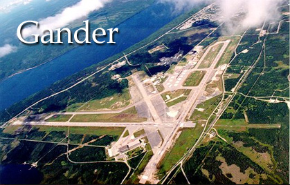 gander aerial photo photo source unknown the gander airport approach